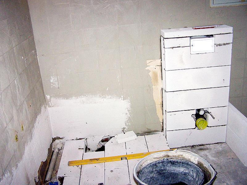 Ytong Podest Dusche : 07.11.2007 nun sind fast alle Elektroleitungen gelegt und auch schon